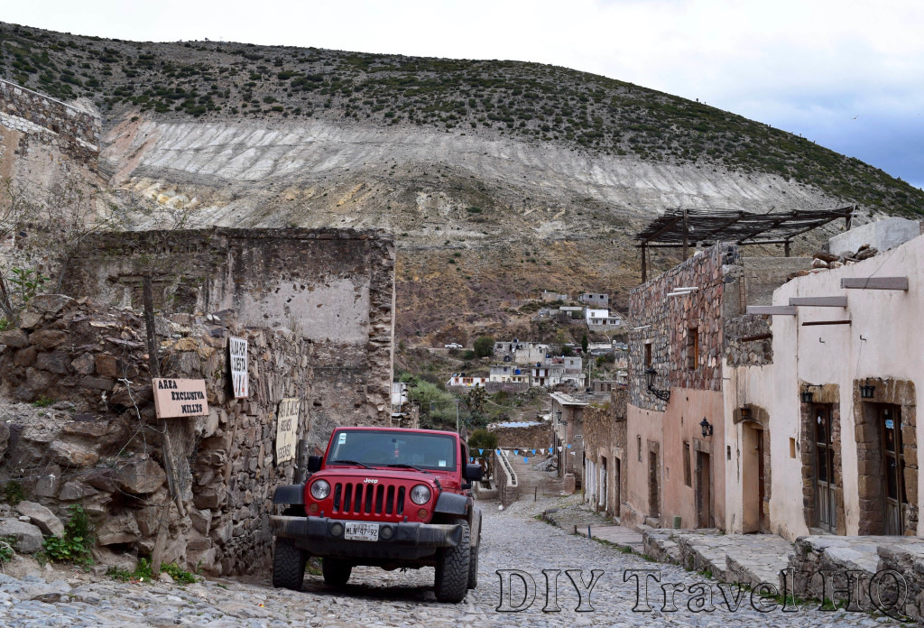 Real de Catorce Jeep Terminal