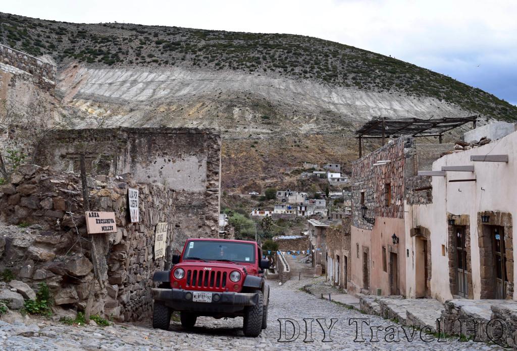 Real de Catorce Jeep Terminal