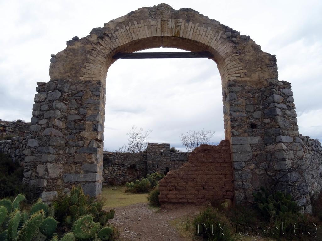 Real de Catorce Pueblo Fantasmo Arch