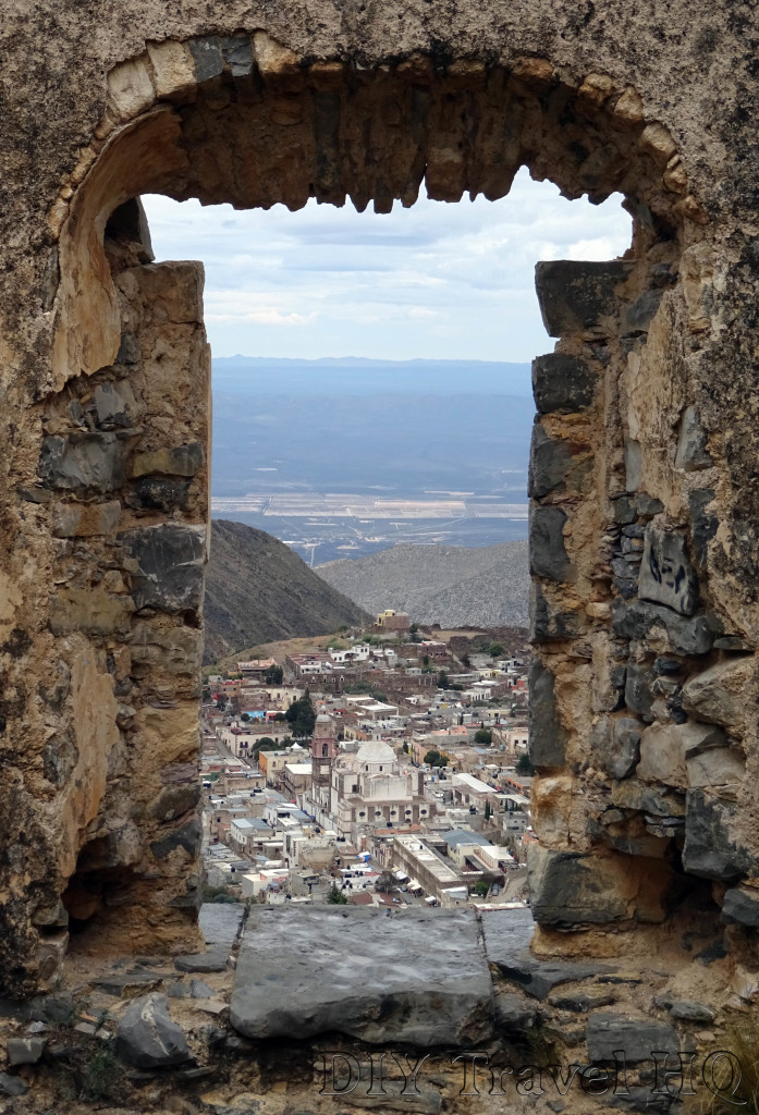 Real de Catorce Pueblo Fantasmo Close Ruin Window View
