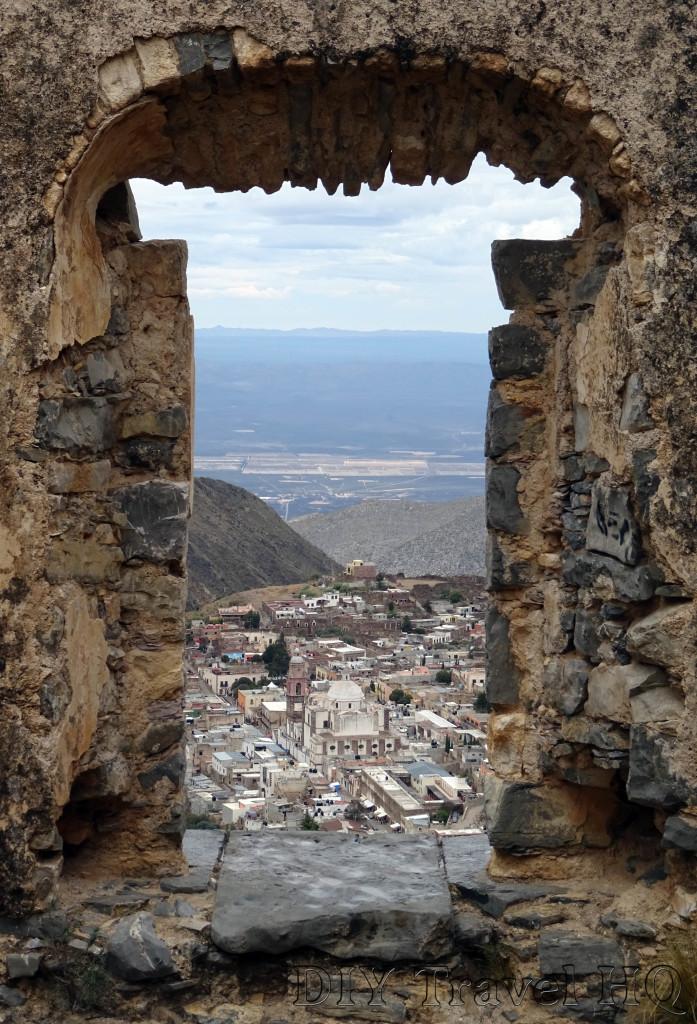 Real de Catorce Pueblo Fantasmo Close Ruin Window View