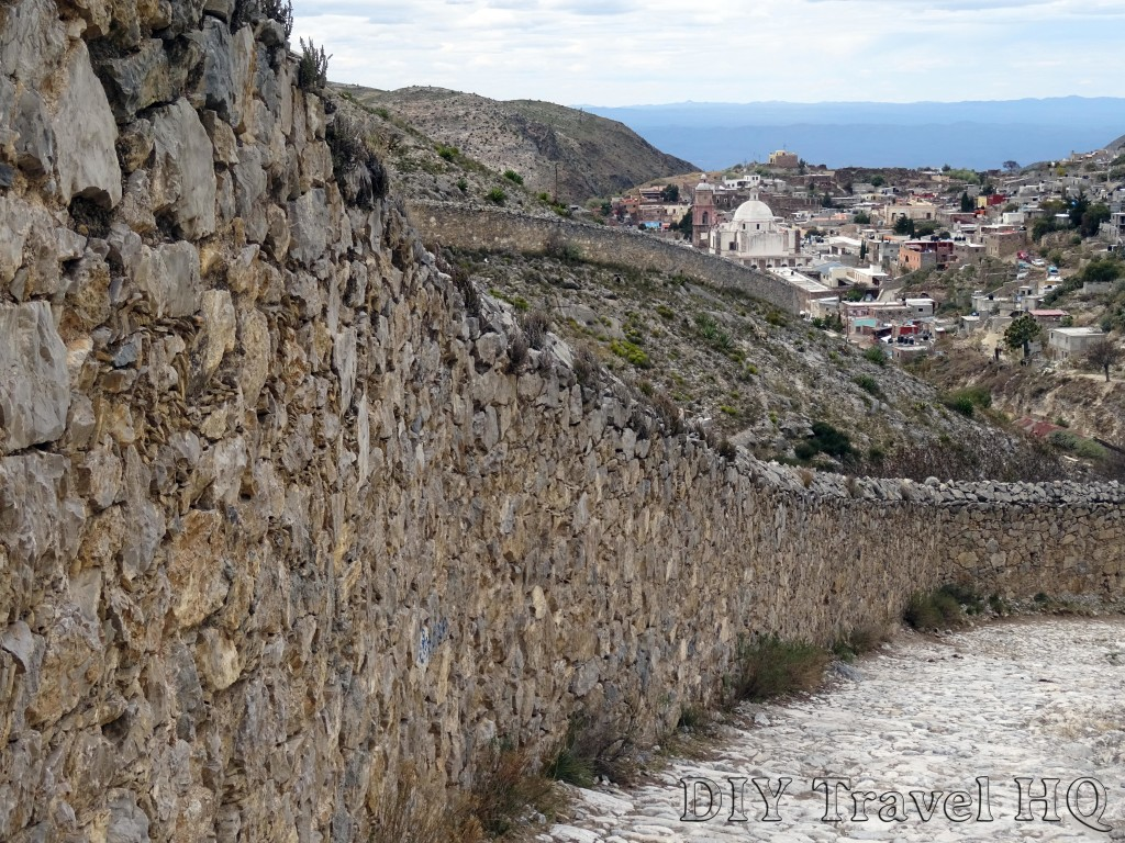Real de Catorce Pueblo Fantasmo Path