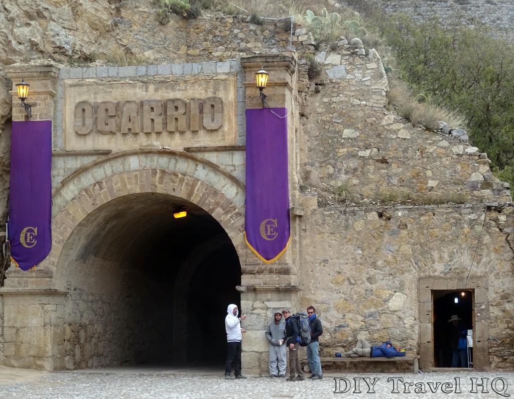 Real de Catorce Tunel Ogarrio