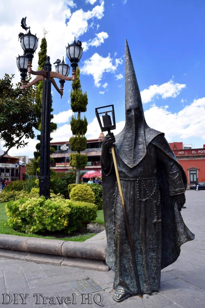 San Luis Potosi Procesion del Silencio Statue