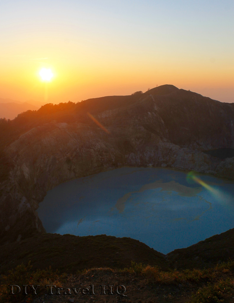 Sunrise over Mt Kelimutu Lake