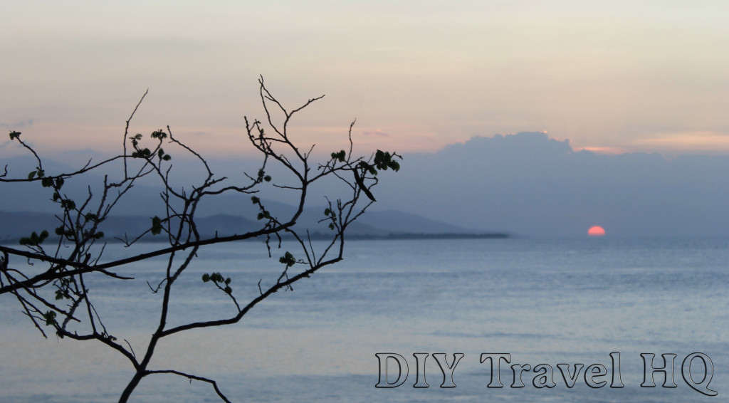 Sunset in Cristo Rei Dili