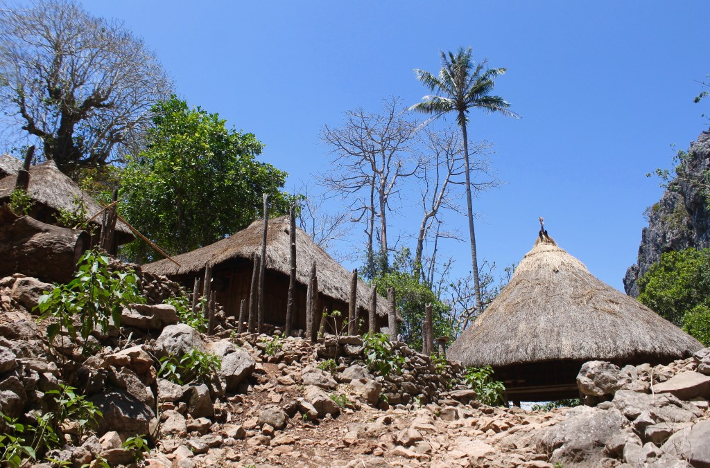 West Timor Tamkessi Village