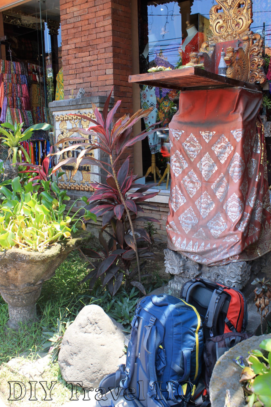 Backpacking in Ubud