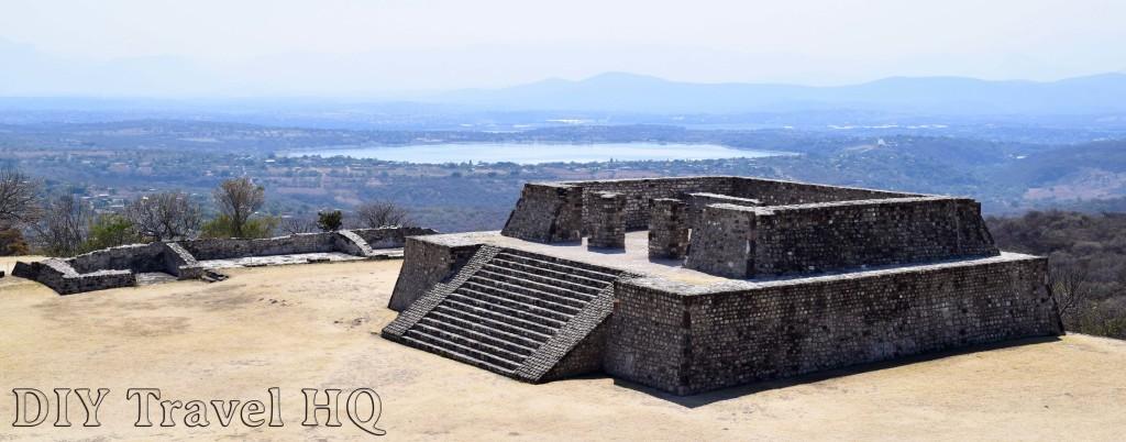 Lake behind Xochicalco