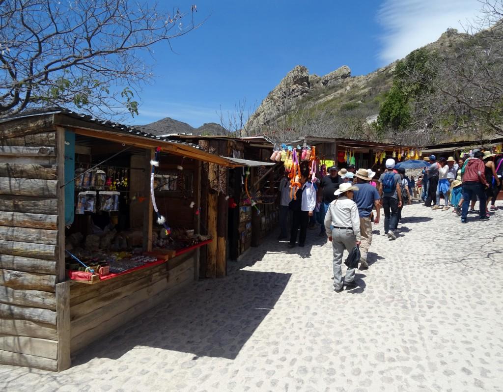 Peña de Bernal Vendors