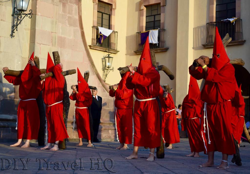 Convento de la Santa Cruz Procesion del Silencio Groups