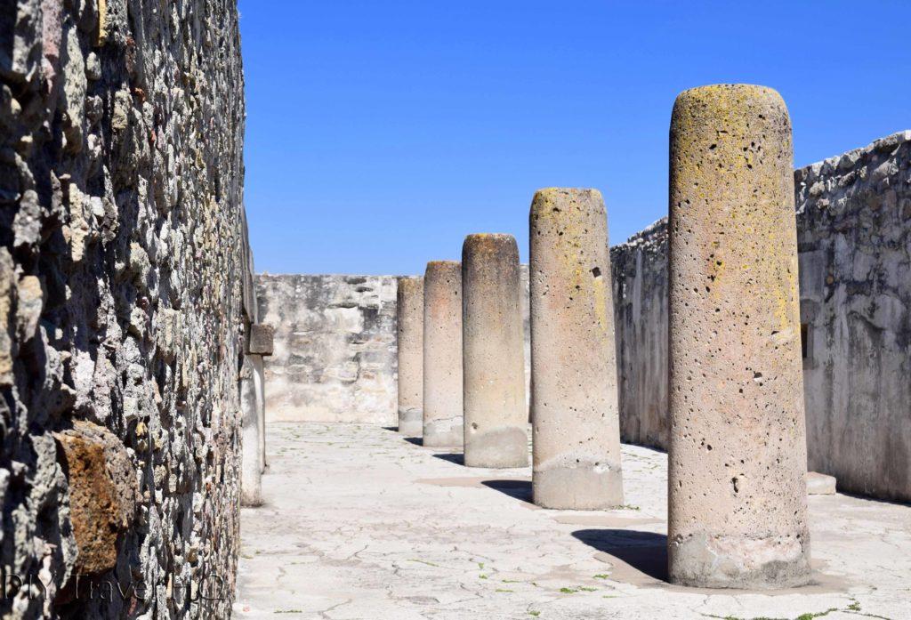 Ruins at Mitla, Oaxaca