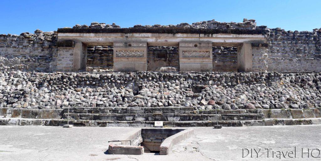 Mitla Ruins Columns of Life Plaza