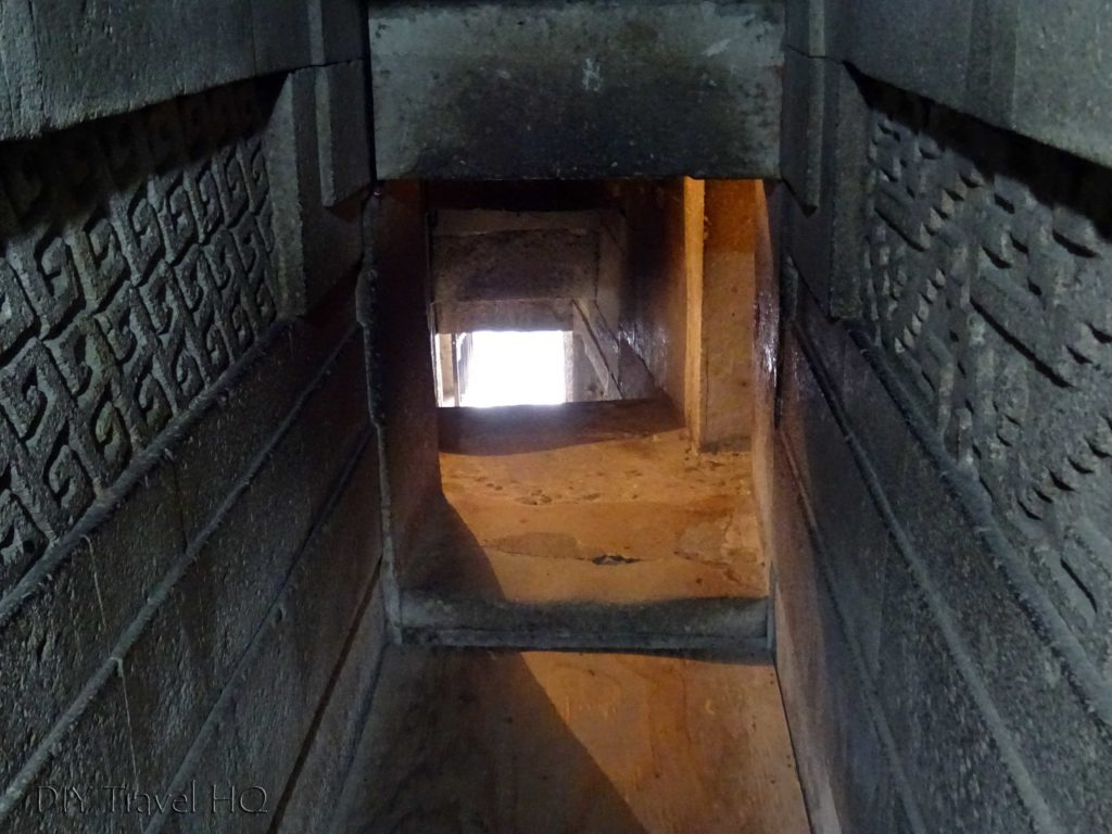 Mitla Ruins Columns of Life Tomb Tunnel