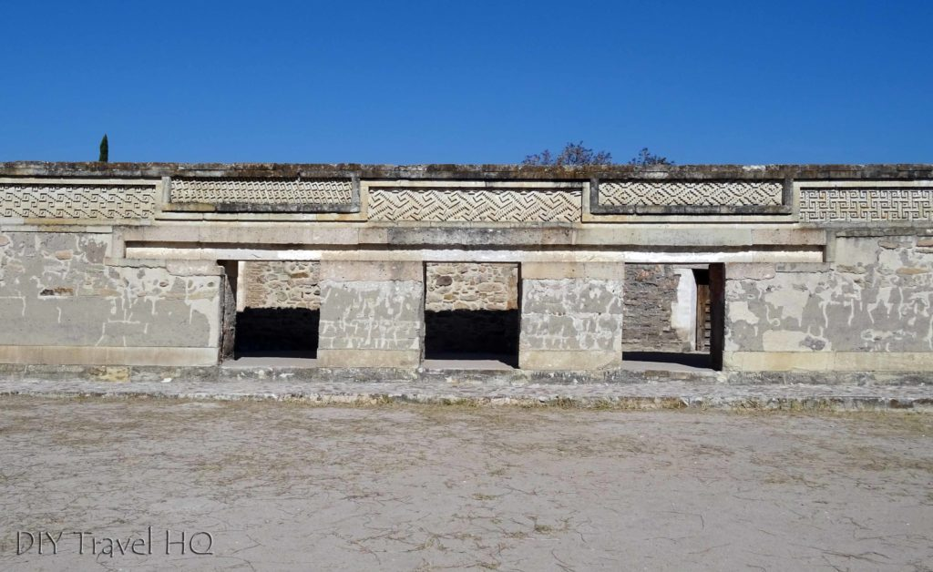 Mitla Ruins Grupo del Norte Plaza Mosiacs
