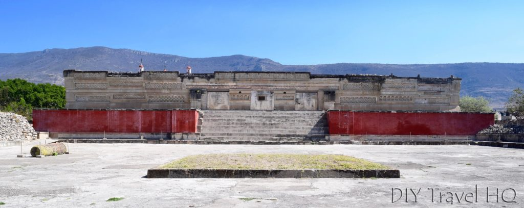 Mitla Ruins Hall of the Columns Plaza