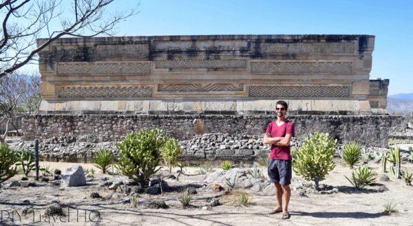 Mitla Ruins Patio of the Mosaics