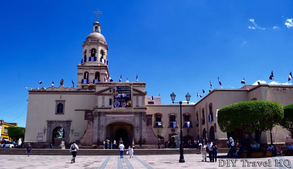 Queretaro Convento de la Santa Cruz