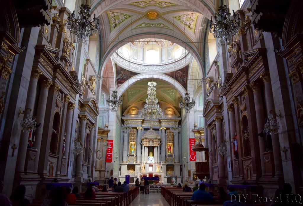 Queretaro Templo de San Francisco Interior