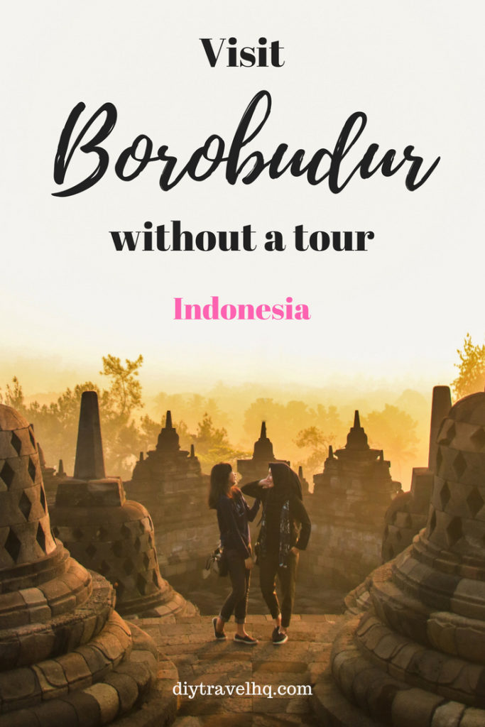 Visiting Borobodur Temple is one of the best things to do in Yogyakarta, Indonesia. Check out our post and find out everything you need to know about entrance fees, tours and how to get to Borobodur #indonesia #yogyakarta #borobodur