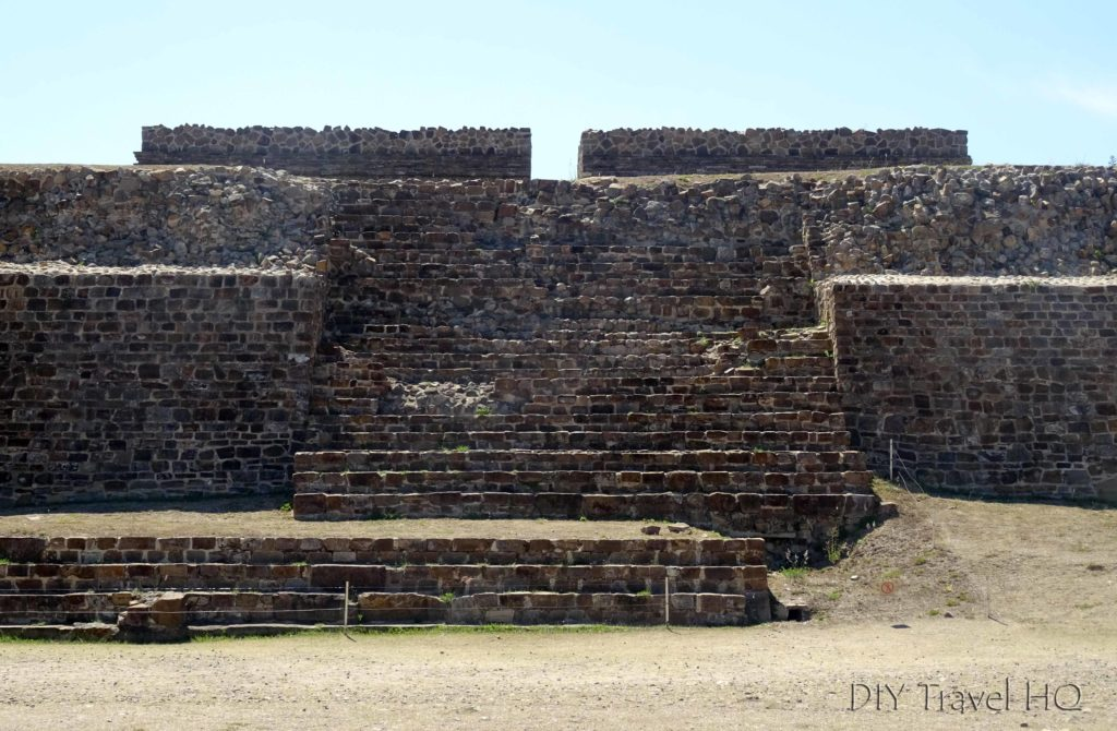 Monte Alban Ruins Edificio L