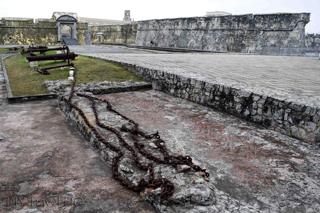 San Juan de Ulua fort