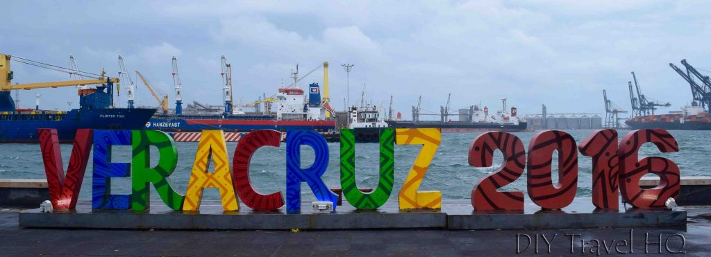 Veracruz sign