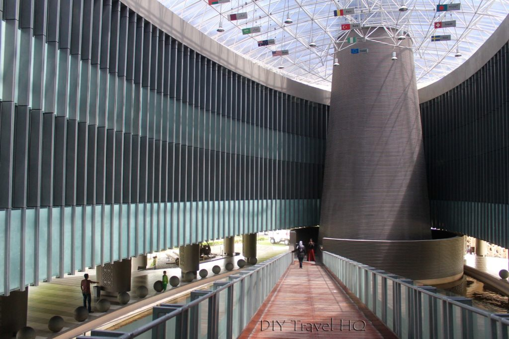 Inside the Tsunami Museum