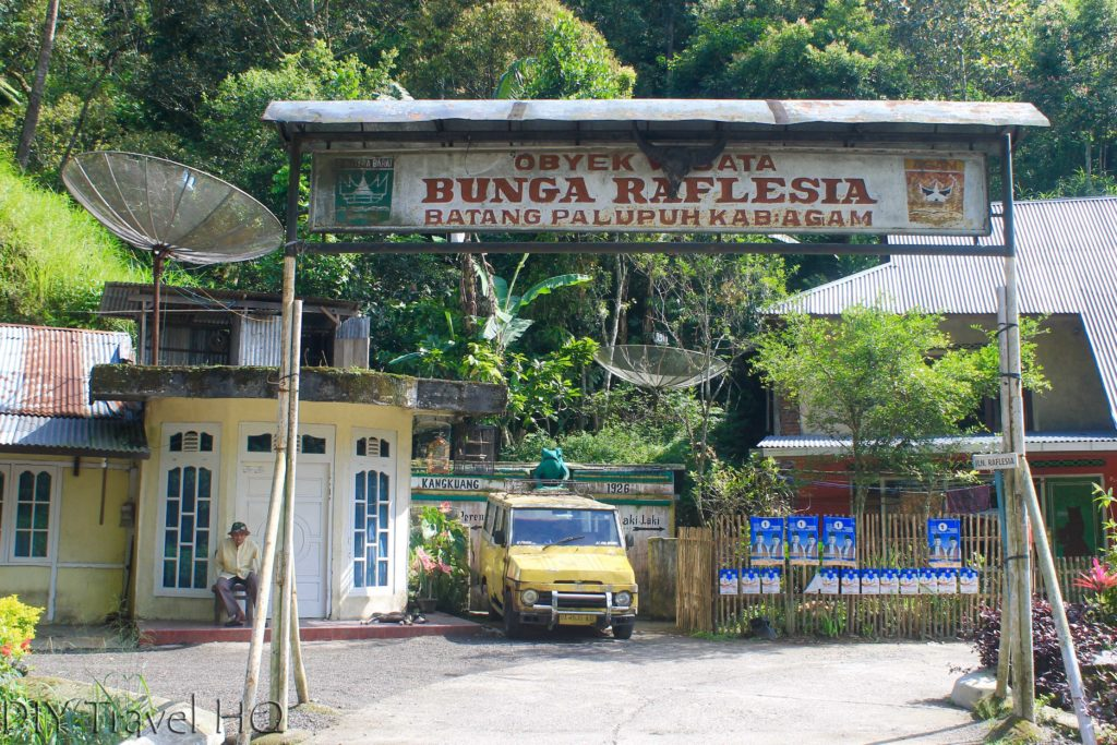 Entrance to Batung Palupah Nature Reserve