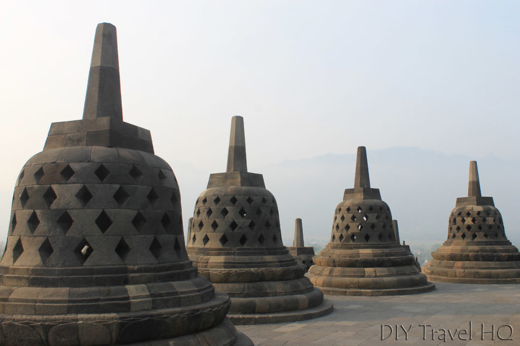 Borobudur Tour Buddha Statues