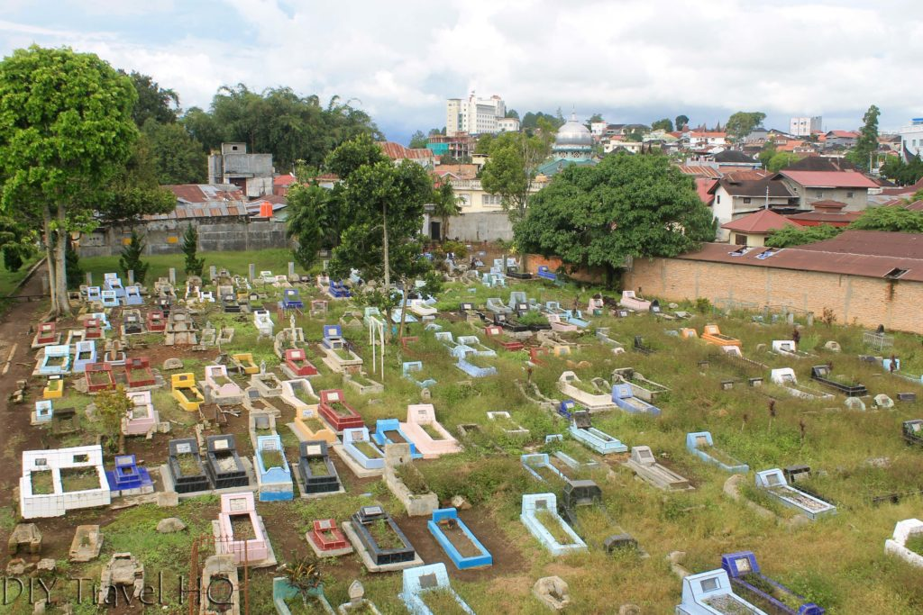 Cemetery at Panorama Park Bukittinggi