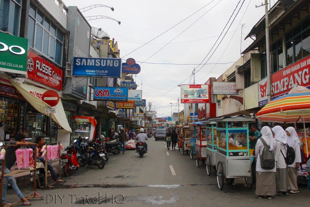 Street Markets Bukittinggi