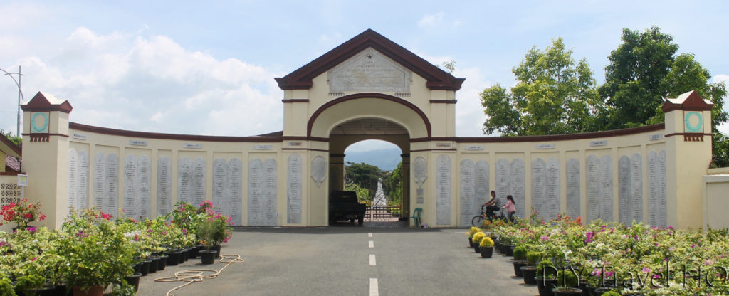 Entrance gate of Dutch Kerkhoff Poucut Cemetery