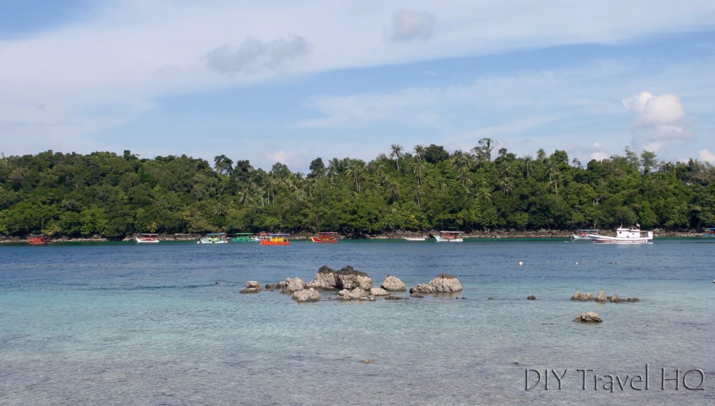 Rubiah Island from Iboih Beach
