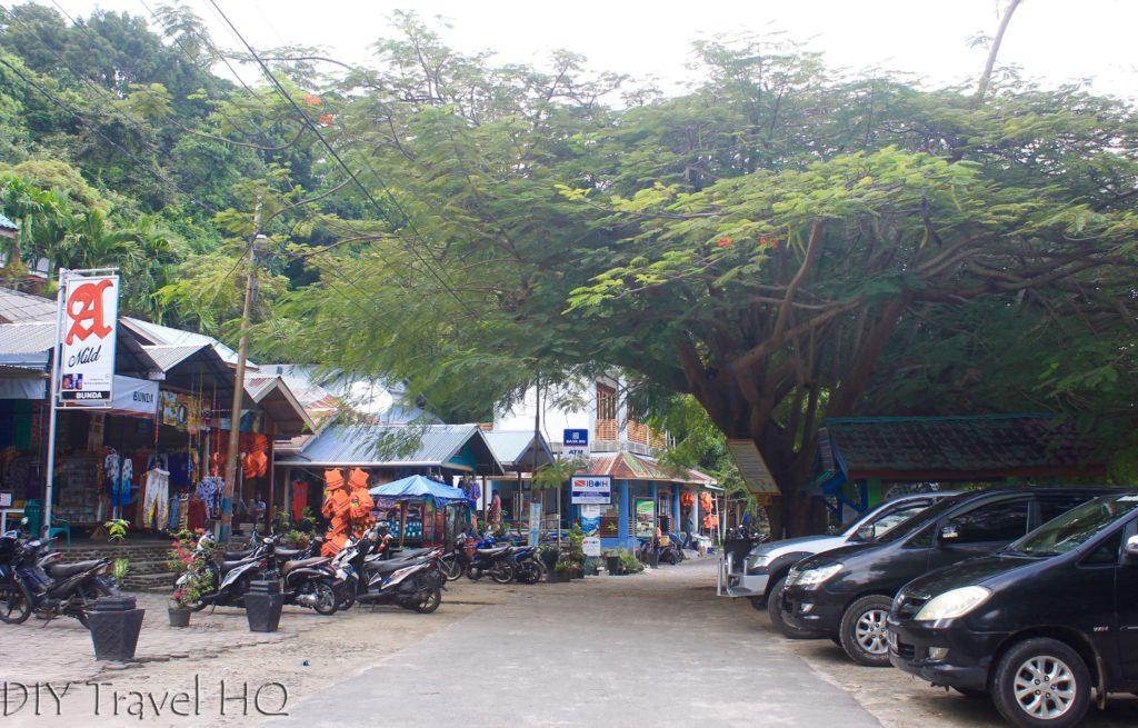 Start of Iboih beach village