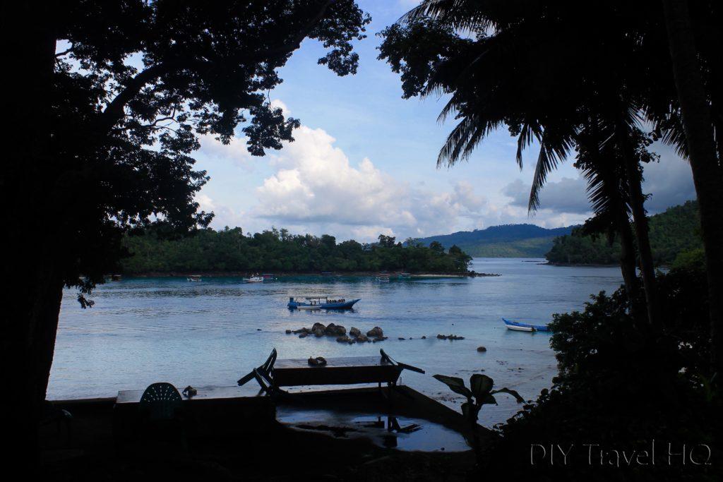Island views on Iboih beach