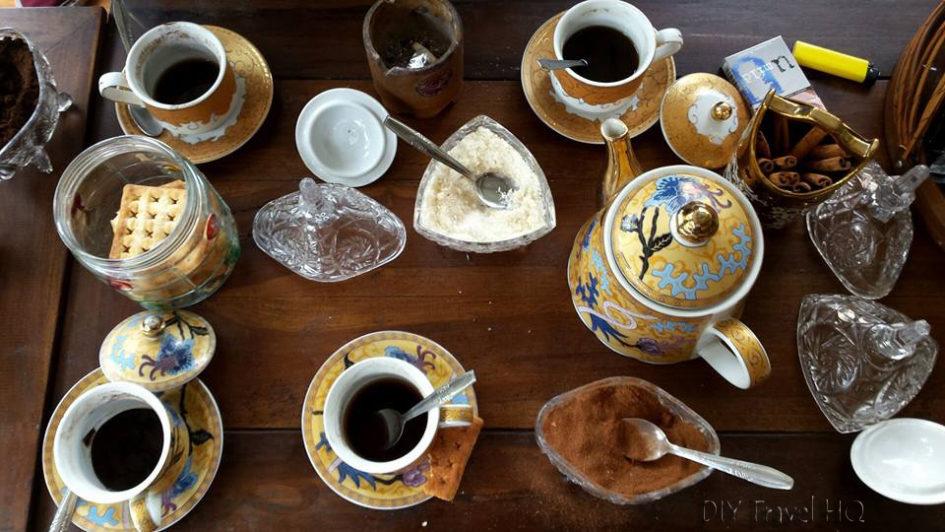 Try a cup of Kopi Luwak at Bukittinggi