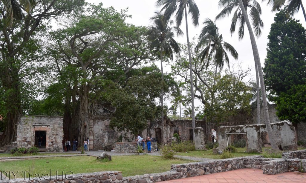 La Antigua Cortez's House Overtaken by Trees