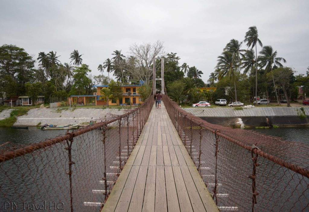 La Antigua Suspension Bridge