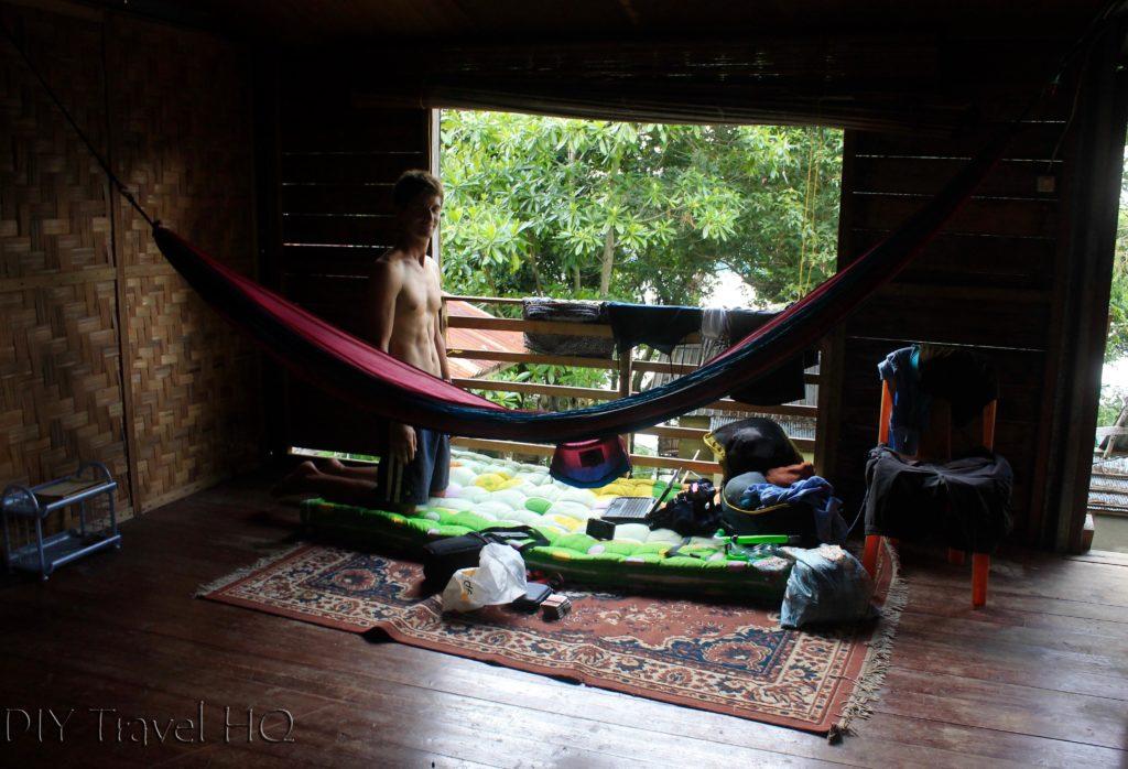 Hammock room at Mamamia Pulau Weh