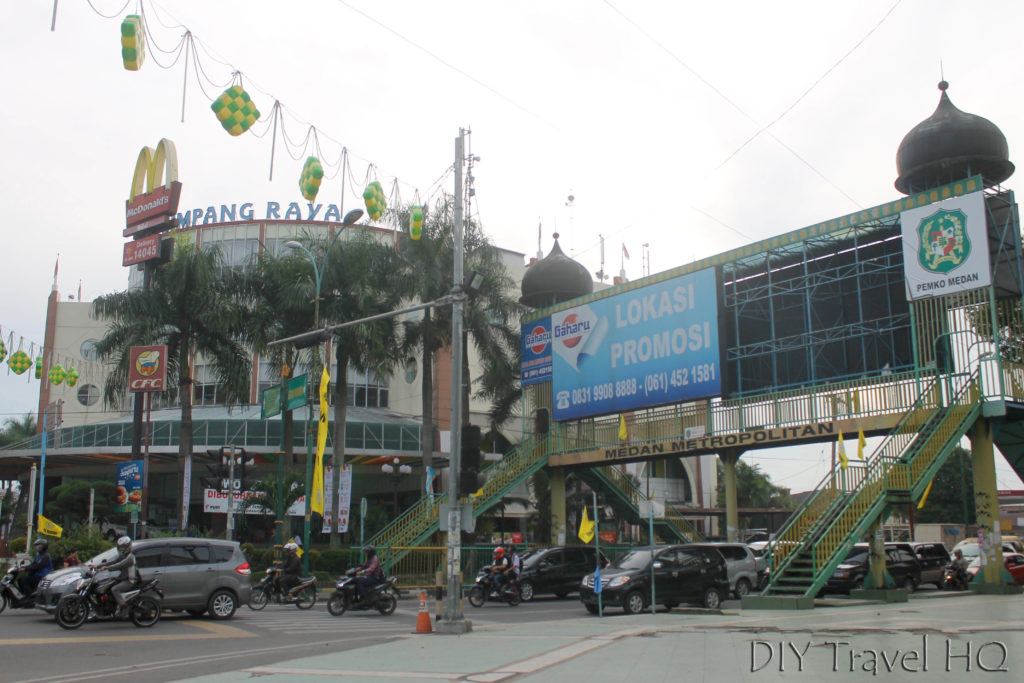 Shopping centre overpass Medan