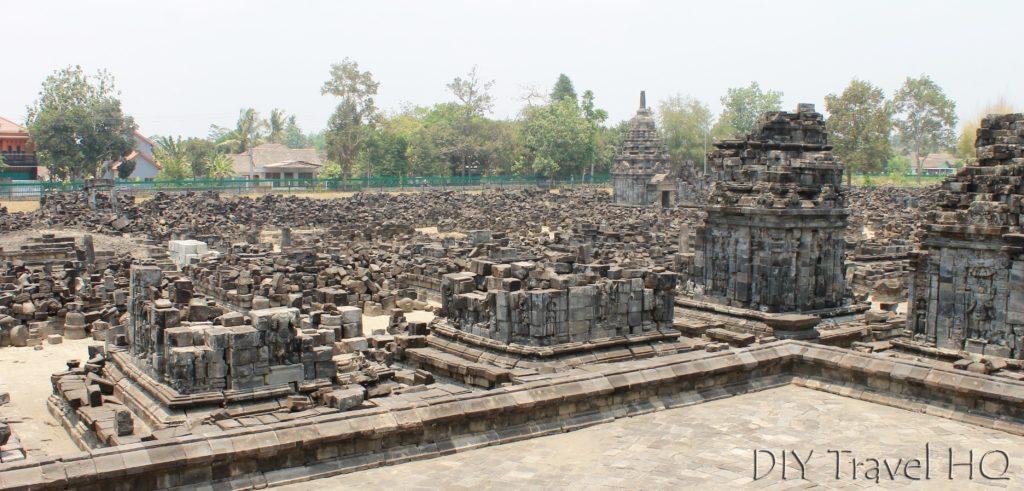 Candi Sewu Ruins at Prambanan Temples