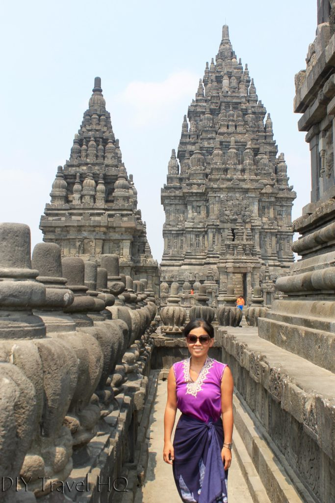 Me at one the Prambanan Temples