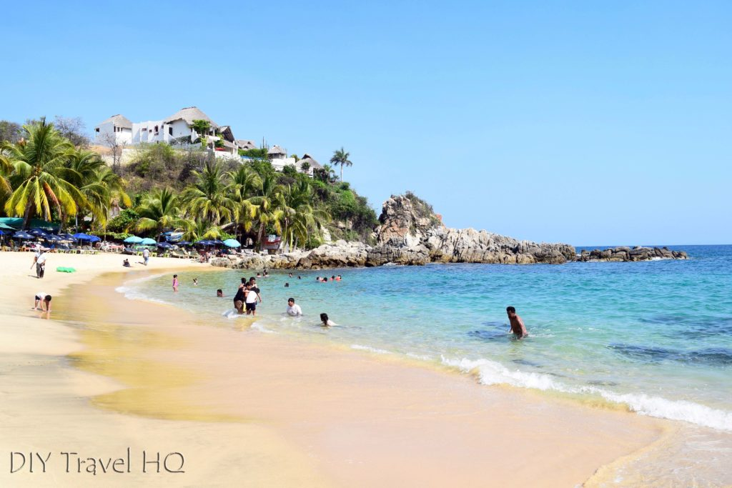 Puerto Escondido Playa Manzanillo