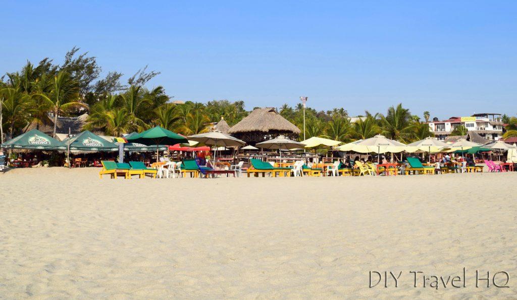 Puerto Escondido Playa Zicatela Lounge Chairs