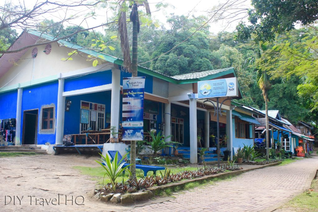 Rubiah Tirta dive centre on Pulau Weh