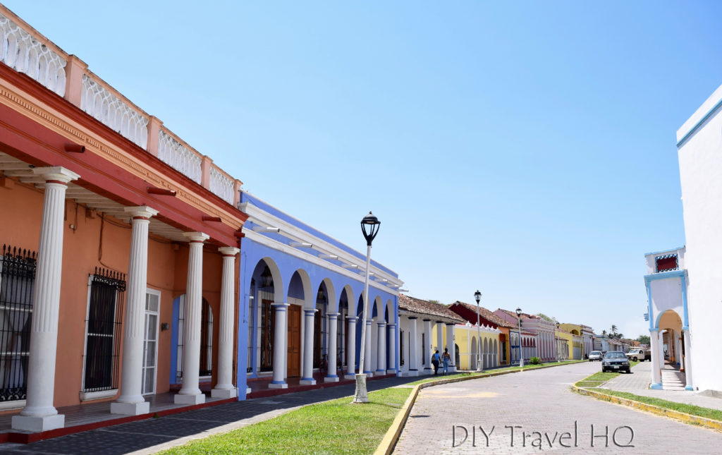 Tlacotalpan Colorful Colonial Architecture
