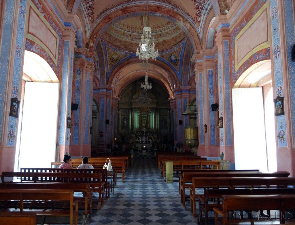 Tlacotalpan Santuario de la Candelaria Interior