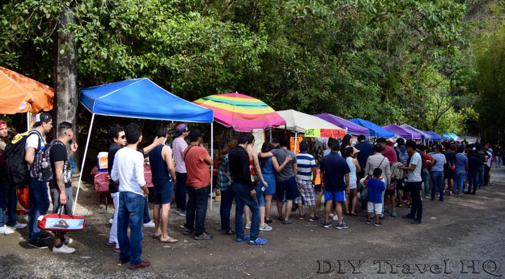 Xilitla Las Pozas Semana Santa Entrance Line