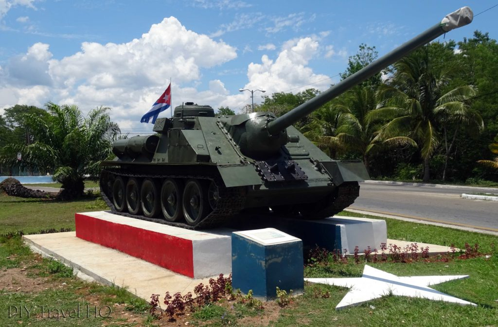 Playa Larga Bay of Pigs Tank Monument